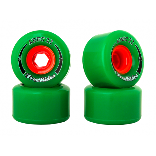 ABEC11 FreeRides OS 72mm / 78a